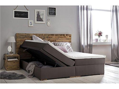 woodkings bett helensville 180x200 hotelbett polsterbett doppelbett taschenfederkern. Black Bedroom Furniture Sets. Home Design Ideas