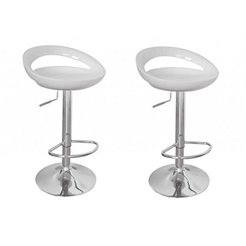 vidaxl 2 design barhocker bar stuhl drehstuhl lounge hocker k che barst hle wei neu 10. Black Bedroom Furniture Sets. Home Design Ideas