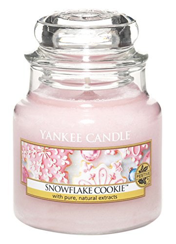 Yankee Candle 1275344E Snowflake Cookie Cassis Kleines Jar