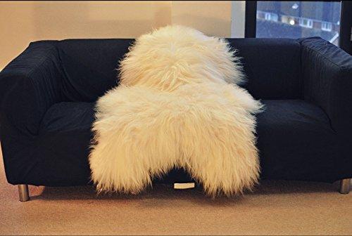 island schaffell lammfell naturfell sheepskin neu langes. Black Bedroom Furniture Sets. Home Design Ideas