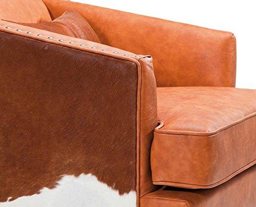 sessel fell texas brown vintage rodeo fellsessel kuhfell western style skandinavische m bel. Black Bedroom Furniture Sets. Home Design Ideas
