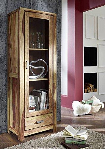 sheesham massivholz massiv m bel ge lt vitrine palisander m bel massiv holz natur braun buddha. Black Bedroom Furniture Sets. Home Design Ideas