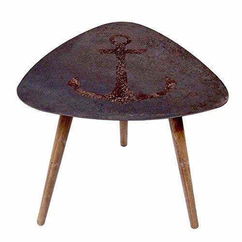 beistelltisch tisch mit anker skandinavische m bel. Black Bedroom Furniture Sets. Home Design Ideas