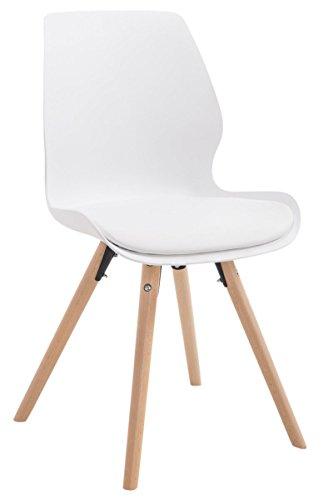 besucherstuhl perth kunststoff natura rund wei skandinavische m bel. Black Bedroom Furniture Sets. Home Design Ideas