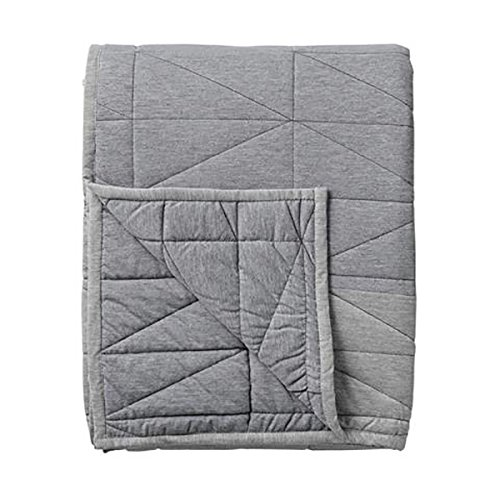 Bloomingville Decke, Light/Dark Grey Melange