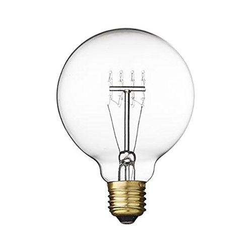 Bloomingville Deco Vintage Lampe 40W, Clear Ø9,5xL13 cm, E27