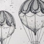 Bloomingville Kissen Balloon Rund