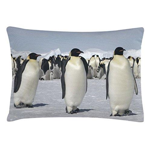 Bloomingville Retro Kissen Pinguine