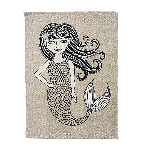 Bloomingville Teppich Meerjungfrau