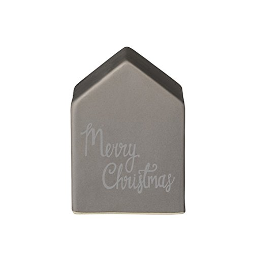Deco House, Matte Grey H11xW8 cm