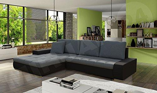 ecksofa orkan mini bris mit schlaffunktion und. Black Bedroom Furniture Sets. Home Design Ideas