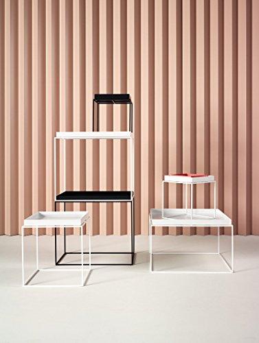 hay tray table wei 30 x 34 x 30 cm design beistelltisch couchtisch sofatisch. Black Bedroom Furniture Sets. Home Design Ideas