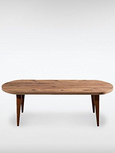 hochwertiger vintage tisch tagus braun tisch massivholz. Black Bedroom Furniture Sets. Home Design Ideas