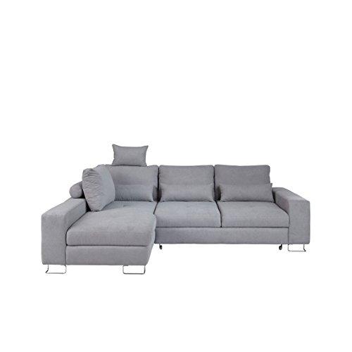 moderne ecksofa asti eckcouch mit bettkasten und schlaffunktion einstellbare r ckenlehnekissne. Black Bedroom Furniture Sets. Home Design Ideas