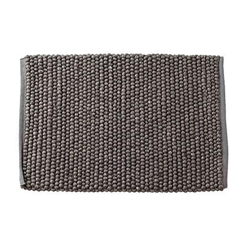 Rug, Grey, Wool L90xW60 cm