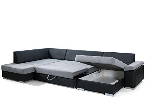 sofa couchgarnitur couch sofagarnitur santorini 3 u polstergarnitur polsterecke wohnlandschaft. Black Bedroom Furniture Sets. Home Design Ideas