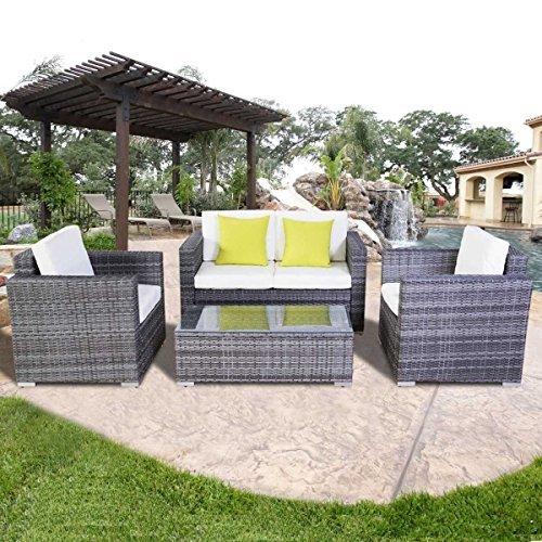 15tlg poly rattan sofa gartenm bel lounge set gruppe for Gartenmobel lounge gruppe