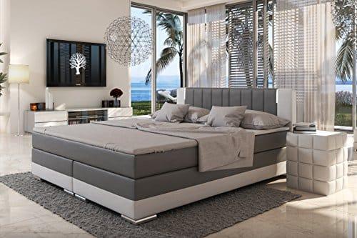 boxspringbett r1 skandinavische m bel. Black Bedroom Furniture Sets. Home Design Ideas