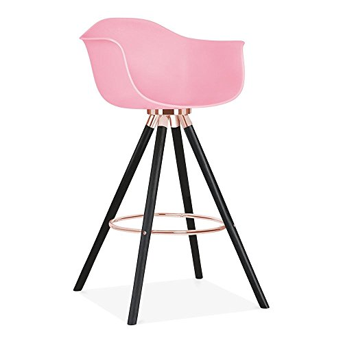 cult design moda barhocker mit armlehne cd2 hellrosa. Black Bedroom Furniture Sets. Home Design Ideas