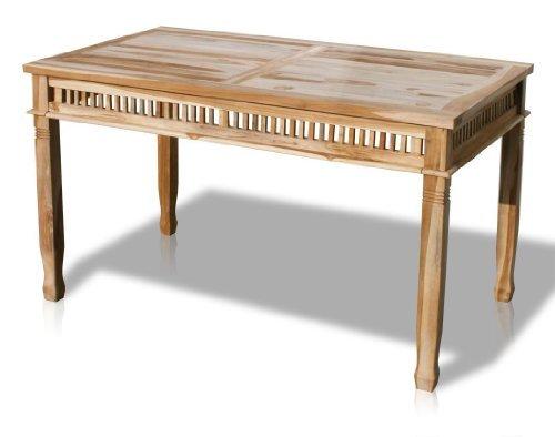 kmh teak gartentisch colonial 140 x 80 cm 102055 0 skandinavische m bel. Black Bedroom Furniture Sets. Home Design Ideas