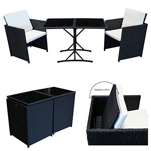 poly rattan sitzgruppe essgruppe set cube sofa garnitur gartenm bel lounge farbwahl. Black Bedroom Furniture Sets. Home Design Ideas