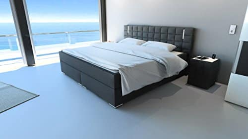 sam design boxspringbett mit neo stoff bezug in. Black Bedroom Furniture Sets. Home Design Ideas