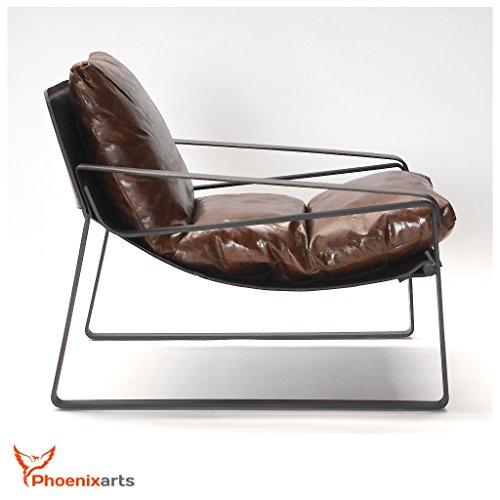 vintage relaxsessel echtleder sessel design lounge ledersessel braun clubsessel sofa 457. Black Bedroom Furniture Sets. Home Design Ideas
