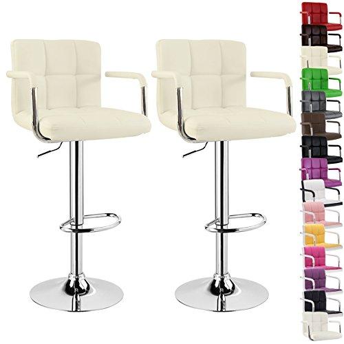 woltu bh16 serie design barhocker mit armlehne 2er set. Black Bedroom Furniture Sets. Home Design Ideas