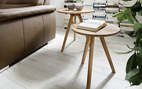 baidani designer couchtisch tauno 2er set asteiche skandinavische m bel. Black Bedroom Furniture Sets. Home Design Ideas