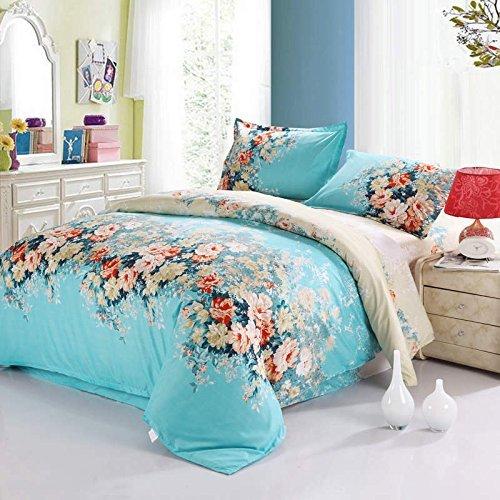 Bettwäsche Bettbezug Doppelbett Baumwolle Queen King Size 200x220 200x230 cm Sommer
