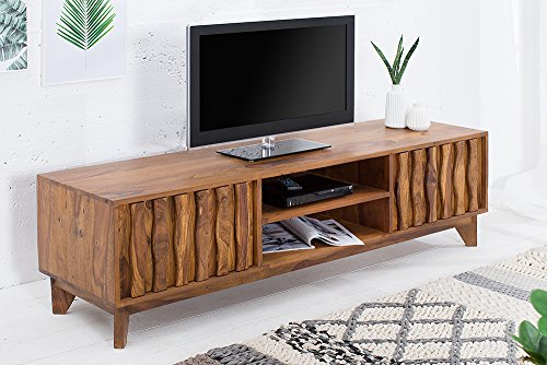 design tv board retro 145cm sheesham lowboard fernsehschrank wohnzimmerschrank skandinavische. Black Bedroom Furniture Sets. Home Design Ideas