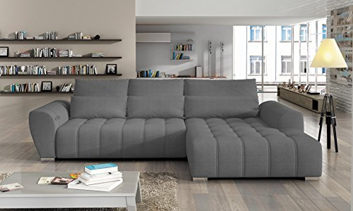 polsterecke braven eckcouch ecksofa schlafsofa polstersofa grau skandinavische m bel. Black Bedroom Furniture Sets. Home Design Ideas