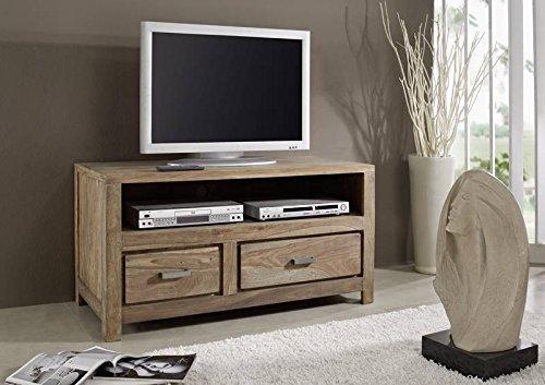 sheesham massivm bel ge lt tv board palisander holz massiv massivholz natur braun buddha 119. Black Bedroom Furniture Sets. Home Design Ideas