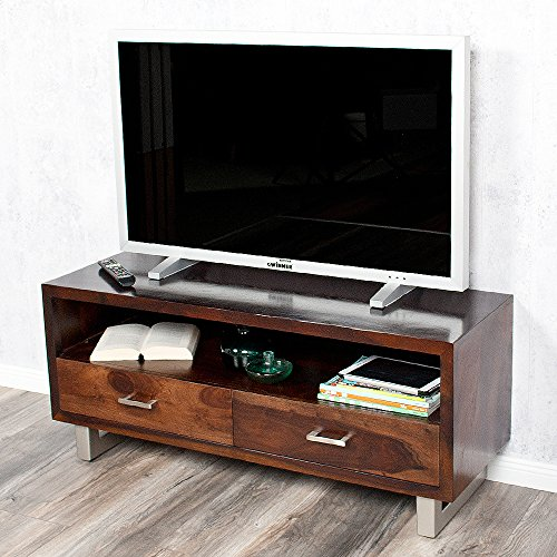 TV-Board MODA aus massivem Palisanderholz Sheesham Dark-M Kommode Sideboard