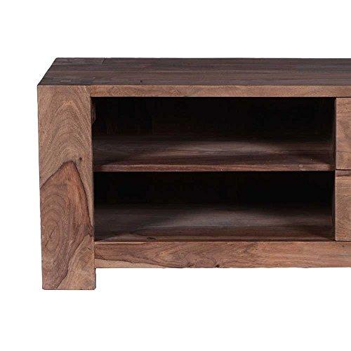 tv board aus sheesham massivholz naturbelassen pharao24 skandinavische m bel. Black Bedroom Furniture Sets. Home Design Ideas