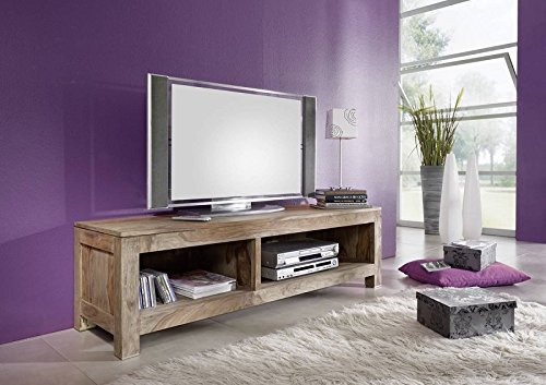palisander massiv holz tv board sheesham m bel nature grey 0123 skandinavische m bel. Black Bedroom Furniture Sets. Home Design Ideas