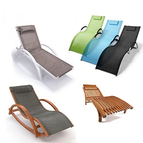 Relax Liegestuhl & Gartenstuhl   100% wetterfeste Gartenmöbel   Metall oder vorbehandeltes Holz der rustikalen Holzmöbel