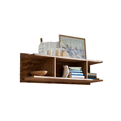 YOGA 6592 Wandboard, Holz, 21 x 120 x 30 cm, natur
