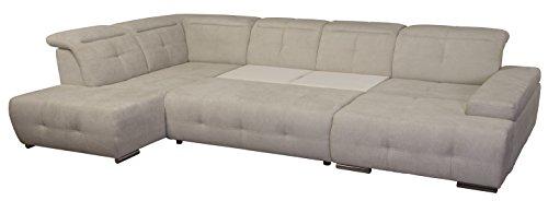 cavadore wohnlandschaft mistrel sofa u form mit kopfteilfunktion xxl sofalandschaft mit. Black Bedroom Furniture Sets. Home Design Ideas