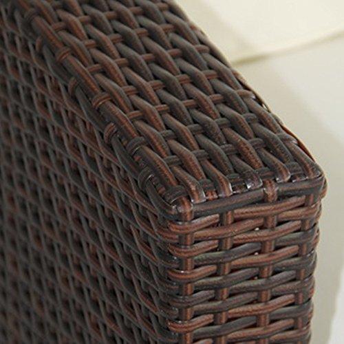 Svita lugano poly rattan lounge garten set xxl sofa set for Couch 3 2 1 garnitur