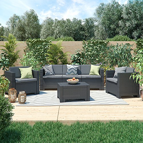 bica colorado lounge set poly rattan gartenm bel. Black Bedroom Furniture Sets. Home Design Ideas