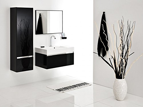 badm bel set mit waschbecken spiegel unterschrank. Black Bedroom Furniture Sets. Home Design Ideas