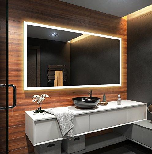 design badspiegel mit led beleuchtung wandspiegel. Black Bedroom Furniture Sets. Home Design Ideas