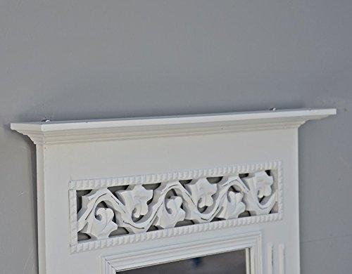 spiegel holzrahmen antik wei landhaus wandspiegel holz rosali badspiegel shabby. Black Bedroom Furniture Sets. Home Design Ideas
