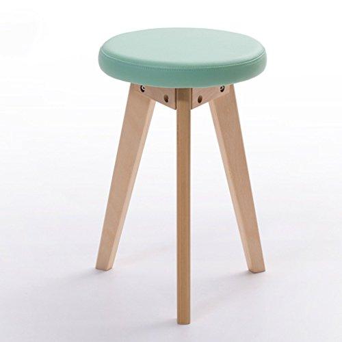 Alle Stühle Kreativer Hocker Nordischer lederner Kunst-kleiner Hocker Mode-kreativer Sofa-Hocker Haushalts-Hocker Mode-Hocker (Farbe: # 5, Entwurf: Satz von 1)