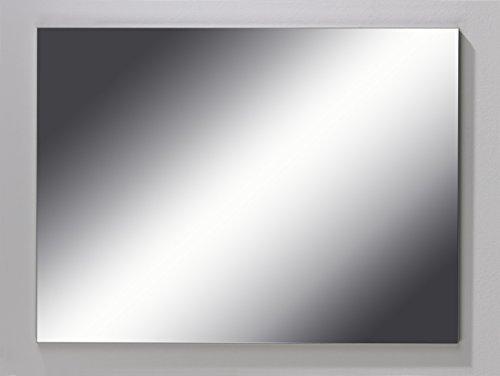 CAVADORE Badspiegel SLEEK 08/eleganter, hochwertiger Wandspiegel/Zeitlos - für jeden Raum/längs und quer montierbar/60 x 80 x 2 cm (B x H x T)