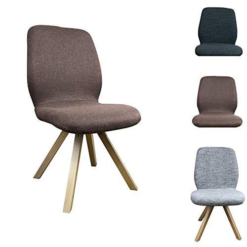 2 x esszimmerstuhl helsinki mit holzgestell einzigartiges design mit hochwertiger verarbeitung. Black Bedroom Furniture Sets. Home Design Ideas