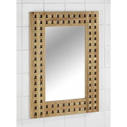 WENKO 18621100 Spiegel Wandspiegel NORDIC 70x50 cm
