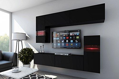 FUTURE 31 Wohnwand Anbauwand Wohnzimmer TV-Schrank Möbel ...