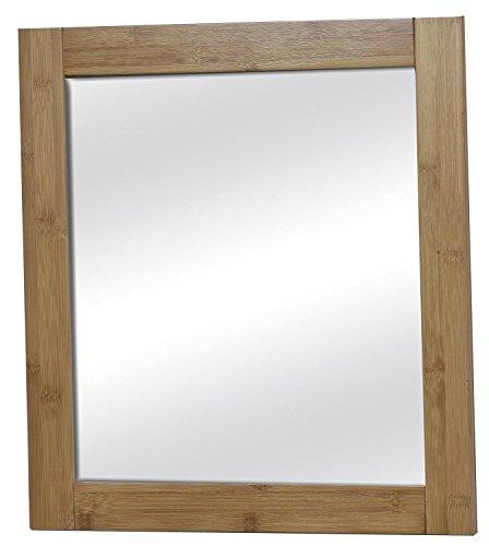 Tendance Wandspiegel fürs Badezimmer - sehr gute Qualität - exotischer Stil - aus BAMBUS